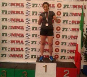 La calabrese Fabiana Giampà ai mondiali di Mma che si terranno in Bahrein