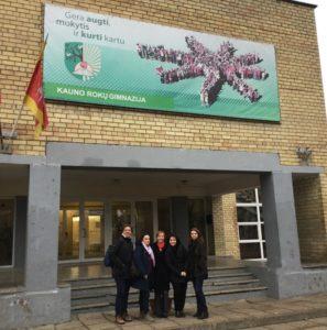 """Primo incontro transnazionale """"Letters"""" del Malafarina di Soverato in Lituania"""