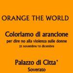 "I Club Soroptimist in Calabria aderiscono al ""Orange the Soroptimist world"""