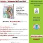 """Soverato – Sabato 2 dicembre presentazione del libro """"Satriano e don Mimmo Battaglia in un abbraccio d'amore"""""""