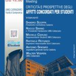 Nuovo incontro all'Umg su criticità e prospettive per gli affitti a canone concordato per studenti universitari