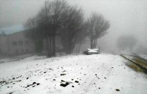 Prime nevicate in Calabria, imbiancata la vetta più alta della Sila