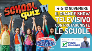 Al Centro Commerciale Due Mari arriva lo School Quiz Tv!