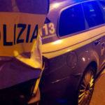 Travolge auto polizia stradale su SS 280, risultato positivo ad alcol test