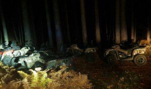Ritrovati dai carabinieri i quad rubati a Villaggio Palumbo