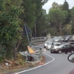 FOTO NEWS | Incidente sulla Statale 106 a Copanello