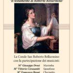 """Davoli – Domenica 3 Dicembre il concerto e momento teatrale """"Il Testamento diRoberto Bellarmino"""""""