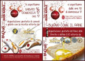 Reggio Calabria – Weekend di bontà a Piazza Duomo con le degustazioni dei cannoli, del gelato e del pane dello Stretto