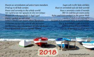 FOTO   Buon 2018 plurilingue dallo Stretto di Messina!