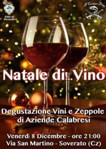 """Soverato – Venerdì 8 Dicembre """"Natale di… Vino"""""""
