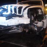 Incidente tra auto della Finanza e una Jeep, quattro feriti