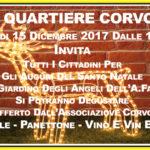 """Festa di Natale dell'Associazione soveratese """"Quartiere Corvo"""""""