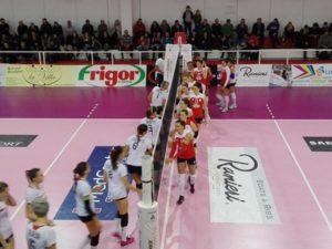 """Volley Soverato – Sconfitta al """"Pala Scoppa"""" contro la Conad Ravenna"""