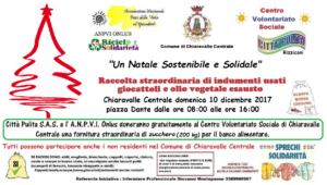 """Chiaravalle Centrale – """"Un Natale Sostenibile e Solidale"""""""