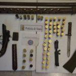 Catanzaro – In casa armi e droga, 49enne arrestato