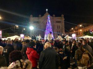 Fattoria della Piana si adegua alla decisione del Comune di Reggio e smonta l'Albero di Piazza Duomo