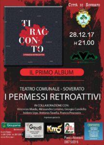 """Soverato – Stasera presentazione album de """"I Permessi Retroattivi"""""""