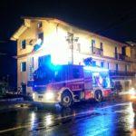 Incendio in un'abitazione, intervento dei Vigili del Fuoco