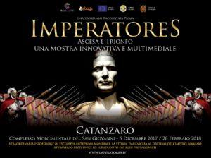 Lunedì 4 Dicembre anteprima mostra Imperatores al complesso San Giovanni di Catanzaro