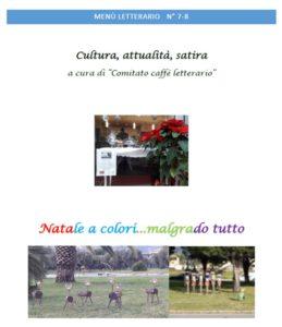 Lamezia Terme – Online il Menù Letterario N°7-8