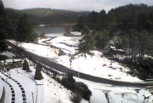 Neve sulla Sila nella prima domenica di dicembre