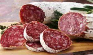 Presenza di salmonella gruppo c1, il Ministero della Salute ritira lotto di salame dai negozi