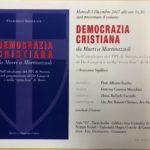 Chiaravalle Centrale, libro sulla Dc di Francesco Squillace domani all'Umg