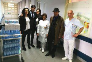 Doni e felicità all'Ospedale di Catanzaro