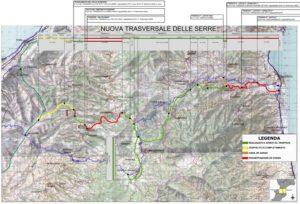 Trasversale delle Serre, il Comitato pubblica online mappe e documenti