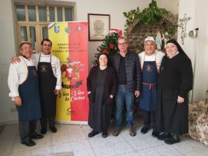 """Pranzo dell'Epifania nella Casa di Accoglienza """"Suore Gerardine"""" di Soverato Superiore"""