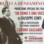 """Catanzaro – Venerdì 5 gennaio il """"Tributo a Beniamino Gigli"""""""