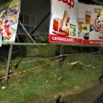 Vento di burrasca in Calabria, numerosi interventi dei Vigili del Fuoco