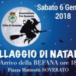 Soverato – Sabato 6 gennaio in piazza Matteotti per la festa della Befana