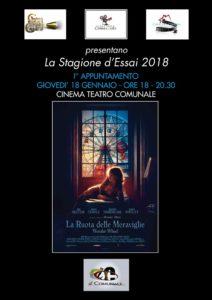 Il Comunale e la Casa del Cinema lanciano la Stagione d'Essai 2018