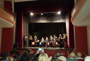 Chiaravalle Centrale, ovazione per l'ensemble dei musicisti classici