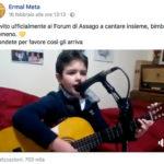"""È di Squillace il bambino che ha """"conquistato"""" Ermal Meta, ad aprile canterà con lui"""