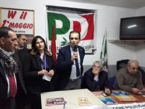 Iniziativa Pd a Vallefiorita, Bruno mobilita il comprensorio: partecipazione ed entusiasmo