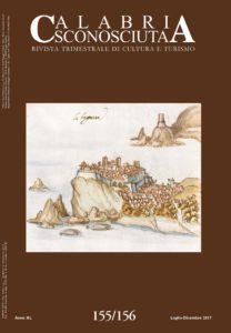 """E' in distribuzione il n. 155/156 della rivista trimestrale di cultura """"Calabria Sconosciuta"""""""