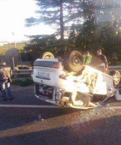Due incidenti questa mattina sulla Statale 106