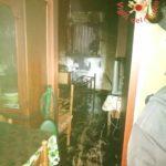 Incendio in un seminterrato di una villetta a schiera