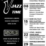 """Al Jazz Club Room 21 di Soverato continua la prestigiosa rassegna musicale """"Jazz Time"""""""