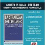 """Sabato 17 Febbraio a Soverato la presentazione del libro """"La strategia dell'inganno"""""""
