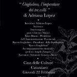 Giovedì 22 Febbraio a Catanzaro la presentazione del libro dedicato a Guglielmo Papaleo