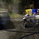Due auto in fiamme nella notte a Catanzaro
