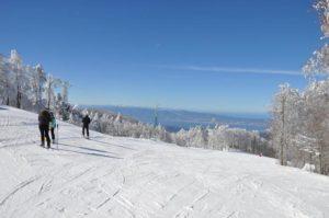 Neve sulle principali località montane calabresi, piste da sci prese d'assalto