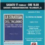 """Soverato, """"La Strategia dell'inganno"""" presentazione del libro Stefania Limiti"""
