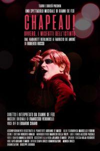 Soverato – Domenica 11 febbraio al Teatro del Grillo lo spettacolo Chapeau! di Roberto Russo