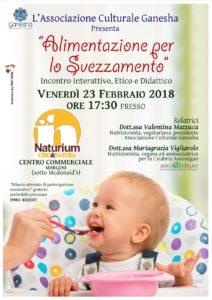 Naturium, una settimana dedicata all'alimentazione per lo svezzamento