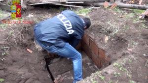 Scoperto nel sottosuolo un bunker della 'Ndrangheta