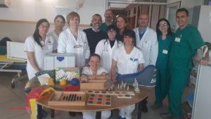 Donazione del Coro Il Mosaico Soverato alla clinica Istituto S. Anna di Crotone